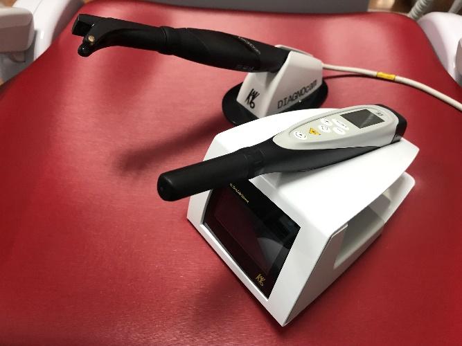 レーザー式う蝕検出装置